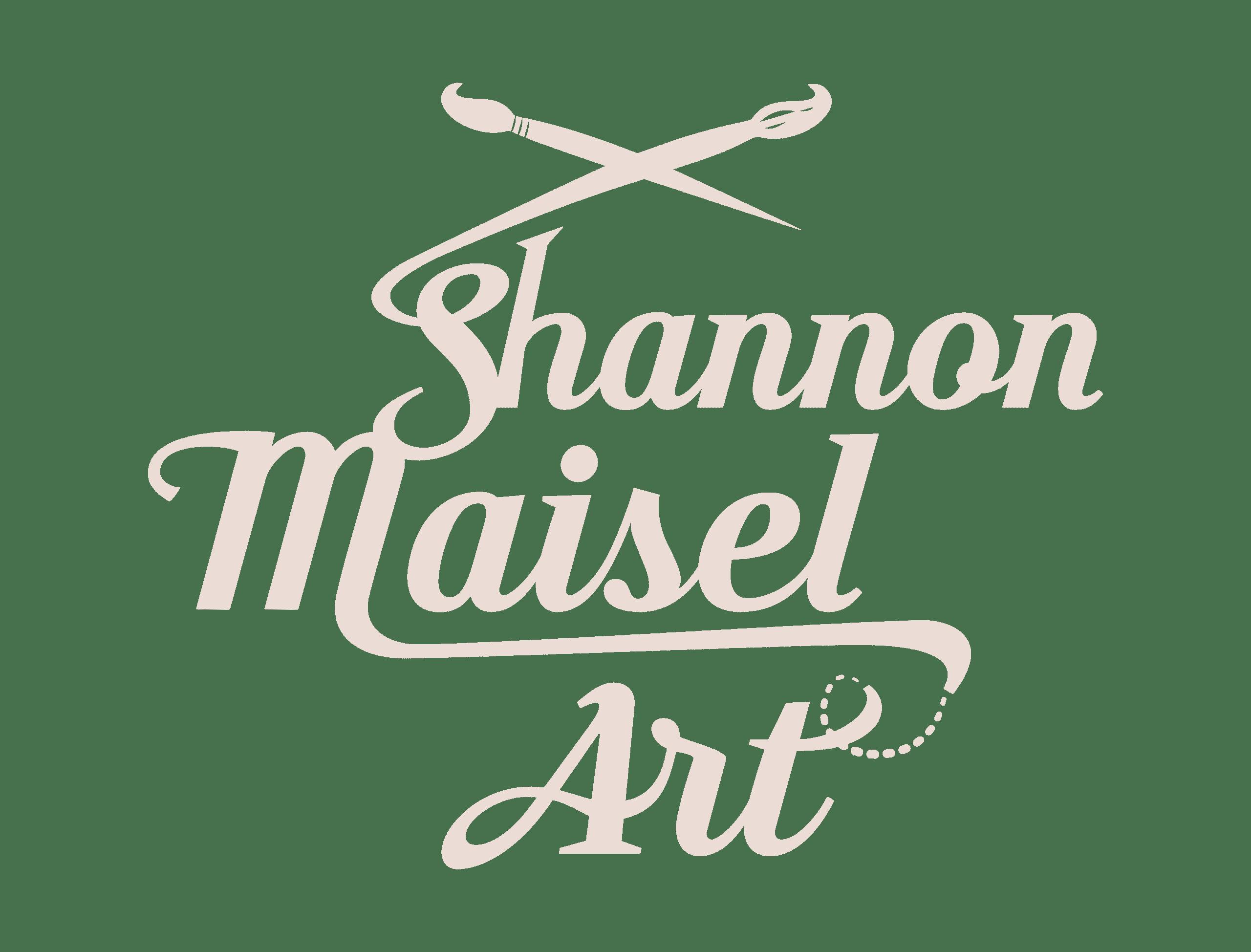 Shannon Maisel Art Logo Tan